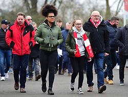 - Mandatory by-line: Alex James/JMP - 17/02/2019 - FOOTBALL - Ashton Gate Stadium - Bristol, England - Bristol City v Wolverhampton Wanderers - Emirates FA Cup fifth round proper