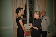Saffron Aldridge and Kay Saatch, Book launch of 'A Much Married Man' by Nicholas Coleridge. English Speaking Union. London. 4 May 2006. ONE TIME USE ONLY - DO NOT ARCHIVE  © Copyright Photograph by Dafydd Jones 66 Stockwell Park Rd. London SW9 0DA Tel 020 7733 0108 www.dafjones.com