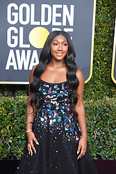 January 6, 2019 - Los Angeles, California, U.S. - Isan Elba Golden Globe Ambassador during red carpet arrivals for the 76th Annual Golden Globe Awards at The Beverly Hilton Hotel. (Credit Image: © Kevin Sullivan via ZUMA Wire)
