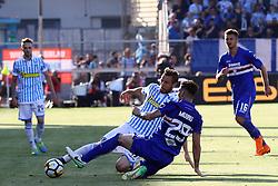 """Foto /Filippo Rubin<br /> 20/05/2018 Ferrara (Italia)<br /> Sport Calcio<br /> Spal - Sampdoria - Campionato di calcio Serie A 2017/2018 - Stadio """"Paolo Mazza""""<br /> Nella foto: JASMIN KURTIC (SPAL)<br /> <br /> Photo /Filippo Rubin<br /> May 20, 2018 Ferrara (Italy)<br /> Sport Soccer<br /> Spal vs Sampdoria - Italian Football Championship League A 2017/2018 - """"Paolo Mazza"""" Stadium <br /> In the pic: JASMIN KURTIC (SPAL)"""
