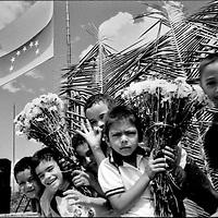 NI—OS DE PORAI - Homenaje a Mariano Diaz.Photography by Aaron Sosa.Baile de la Llora.Zuata, Estado Aragua - Venezuela 2004.(Copyright © Aaron Sosa)
