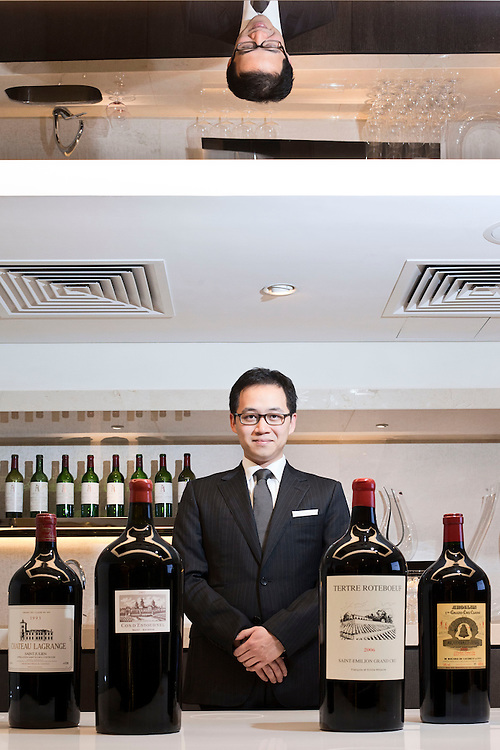Paulo Pong is the owner of Altaya Wines ltd, Bordeaux etc, Champagne etc. He started off as a wine collector and has now ventured into the restaurant and wine business in the city, including The Press Room, Classified and The Pawn. Hong Kong. 2012