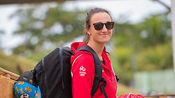 Brazil Rio de Janeiro 2. August 2016 Marina di Gloria, Rio 2016 Olympic Games<br /> Preparation day<br /> 470W AUT Lara Vadlau AUTVL1 Jolanta Ogar AUTJO3<br /> <br /> ©Jürg Kaufmann go4image.com