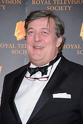 Stephen Fry attends the RTS Programme Awards. London, United Kingdom. Tuesday, 18th March 2014. Picture by Chris Joseph / i-Images