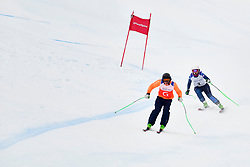 Super Combined and Super G, GALLAGHER Kelly Guide: SMITH Gary, B3, GBR at the WPAS_2019 Alpine Skiing World Championships, Kranjska Gora, Slovenia
