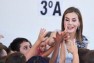 091316 Queen Letizia of Spain Attends The Opening of 2015-2016 Scholarship Course in Palencia