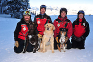 Crested Butte Avalanche Dogs and Ski Patrolers