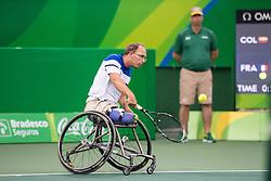 Frederic CATANEO, Tennis en Fauteuil at Rio 2016 Paralympic Games, Brazil