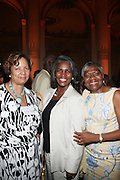 11 August 2010-New York, NY- Linda Fango Haley, Gerri Warren Merrick and Former Manhattan Borough President, C.Virginia Fields at Congressman Charles Rangel 80th Birthday Celebration and Campaign Fundraiser for embattled Congressman where sold out crowd of Politicians and Supporters where present to wish Congressman Charles Rangel well and held at The Plaza Hotel on August 11, 2010 in New York City. Photo Credit: Terrence Jennings