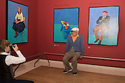 SITTER RUFUS HALE PHOTOGRAPHING DAVID HOCKNEY, David Hockney RA: 82 Portraits and 1 Still-life. Royal Academy of Arts. Piccadilly. London. 28 June 2016