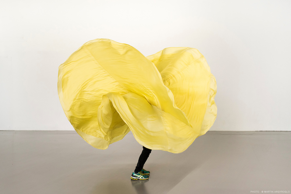 Yellow Object « Loie Fuller Manual by Ola Maciejewska
