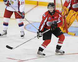 Ryan Ellis of the Windsor Spitfires competed in the 2008 CHL Canada-Russia Challenge and will also play in the 2009 SUBWAY Super Series. Photo by Aaron Bell/OHL Images.