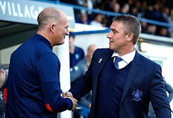 Sunderland manager Simon Grayson greets Bury manager Lee Clark - Mandatory by-line: Matt McNulty/JMP - 10/08/2017 - FOOTBALL - Gigg Lane - Bury, England - Bury v Sunderland - Carabao Cup - First Round