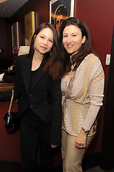 A party to promote the exclusive Puntacana Resort & Club - the Caribbean's Premier Golf & Beach Resort Destination, was held at The Groucho Club, 45 Dean Street London on 12th May 2010.<br /> <br /> Picture shows:-ARABELLA RANDALL and CECILIA MIRZA