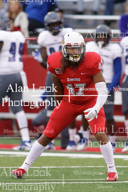 NORMAL, IL - September 08: DeMarco Washington during 107th Mid-America Classic college football game between the ISU (Illinois State University) Redbirds and the Eastern Illinois Panthers on September 08 2018 at Hancock Stadium in Normal, IL. (Photo by Alan Look)
