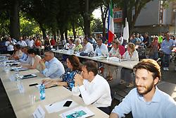 PRIMO CONSIGLIO COMUNALE GIUNTA FABBRI IN ZONA GAD GRATTACIELO
