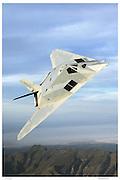 F-117A, air-to-air