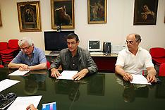 20110525 CONFERENZA STAMPA DONNA MORTA A CENTO DURANTE IL PARTO