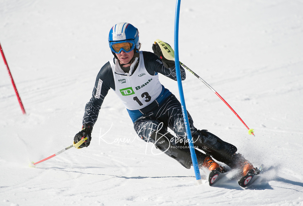 TD Bank Eastern Cup Slalom Waterville Valley1st run   March 28, 2011.