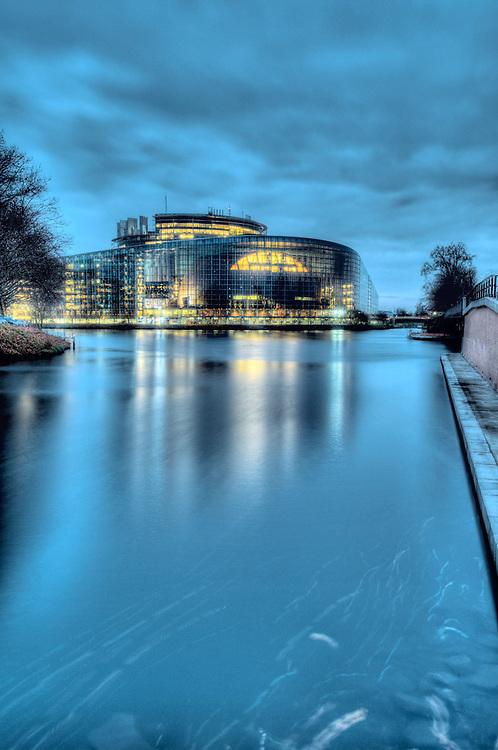 European Parliament in Strasbourg.<br /> Credit : Paul Marnef / Isopix