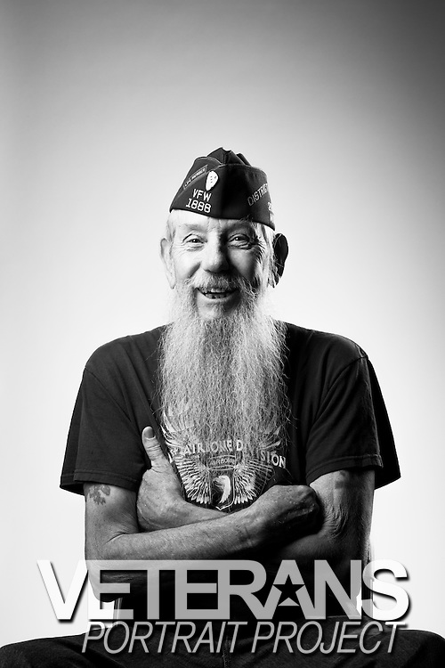 John T. Coleman<br /> Army<br /> E-5<br /> Infantry<br /> Dec. 1968 - Dec. 1970<br /> Vietnam<br /> <br /> Veterans Portrait Project<br /> St. Louis, MO
