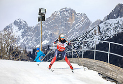 17.03.2017, Ramsau am Dachstein, AUT, Special Olympics 2017, Wintergames, Langlauf, Divisioning 5 km Classic, im Bild Kristin Marie Nyhus (NOR) // during the Cross Country Divisioning 5 km Classic at the Special Olympics World Winter Games Austria 2017 in Ramsau am Dachstein, Austria on 2017/03/17. EXPA Pictures © 2017, PhotoCredit: EXPA / Martin Huber
