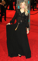 Lily Donaldson, EE British Academy Film Awards 2016 (BAFTAs), Royal Opera House, London UK, 14 February 2016, Photo by Richard Goldschmidt