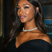 Jourdan Dunn reveals Tiffany Christmas window