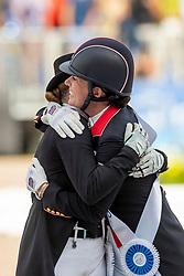 DUJARDIN Charlotte (GBR), WERTH Isabell (GER)<br /> Tryon - FEI World Equestrian Games™ 2018<br /> Grand Prix Special Einzelentscheidung<br /> 14. September 2018<br /> © www.sportfotos-lafrentz.de/Stefan Lafrentz