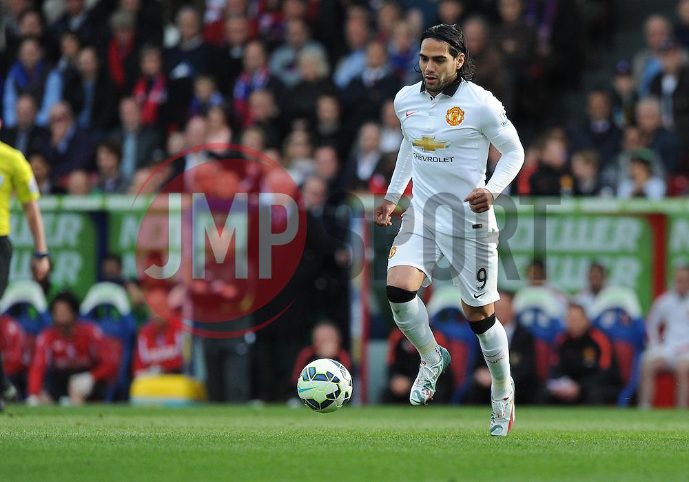 Manchester United's Radamel Falcao Garcia - Photo mandatory by-line: Alex James/JMP - Mobile: 07966 386802 - 09/05/2015 - SPORT - Football - London - Selhurst Park - Crystal Palace v Manchester United - Barclays Premier League