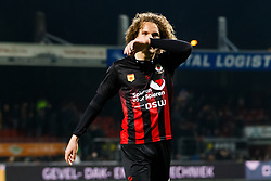 Wout Faes of Excelsior during the Dutch Eredivisie match between sbv Excelsior Rotterdam and ADO Den Haag at Van Donge & De Roo stadium on March 16, 2018 in Rotterdam, The Netherlands