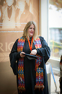 Masters of International Agriculture Program Hooding ceremony signifying the attainment of a Masters Degree at Oklahoma State University Division of Agricultural Sciences and Natural Resources.