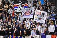 AMBIANCE SUPPORTERS LYONNAIS - 14.03.2015 - Lyon / Paris - 24e journee Ligue A<br /> Photo : Jean Paul Thomas / Icon Sport