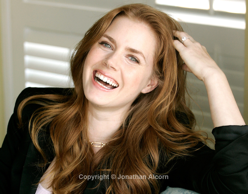 Dec 12, 2008 - Beverly Hills, California, USA - Actress AMY ADAMS was nominated for a Golden Globe for her role as a nun in 'Doubt' photographed at the Four Seasons Hotel.