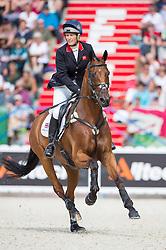 Zara Philips, (GBR), High Kingdom - Jumping Eventing - Alltech FEI World Equestrian Gamesª 2014 - Normandy, France.<br /> © Hippo Foto Team - Jon Stroud<br /> 31-08-14