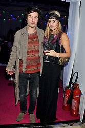 MARISSA MONTGOMERY and her brother MAX MONTGOMERY at the Mulberry Spring/Summer 2012 - London Fashion Week afterparty held at Claridge's, Brook Street, London on 18th September 2011.