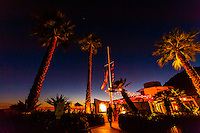 Boathouse at Hendry's Beach (restaurant), Arroyo Burro County Beach Park, Santa Barbara, California USA.