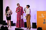 Molly Leutkemeyer (center) and Step Up Girls