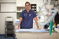 Dr. Andrew Kaplan of City Veterinary Care in New York. .. Photo by Robert Caplin