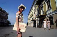News paper seller - Odessa - Ukraine