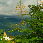 Pagoda at Myanmar's countryside