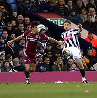 Photo: Mark Stephenson/Sportsbeat Images.<br /> West Bromwich Albion v Scunthorpe United. Coca Cola Championship. 29/12/2007.West Brom's man of the match Zoltan Gera tries a shot