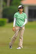 Yueer Cindy Feng during the final round of the IOA Golf Classic at Alaqua Country Club on March {today day}, 2014 in Longwood, Florida.<br /> <br /> ©2014 Scott A. Miller