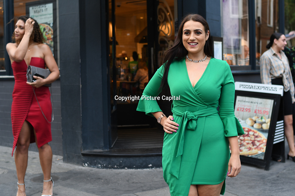 Amel Rachedi attend the Macmillan - charity gala summer party at Pizza Express Dean Street on 8 August 2018, London, UK.