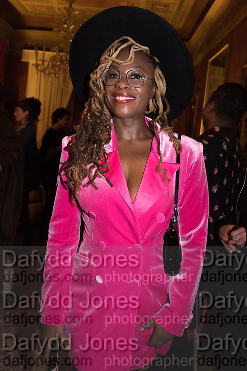 ADELAIDE DAMOAH,, Ghana party, Venice, 8 May 2019