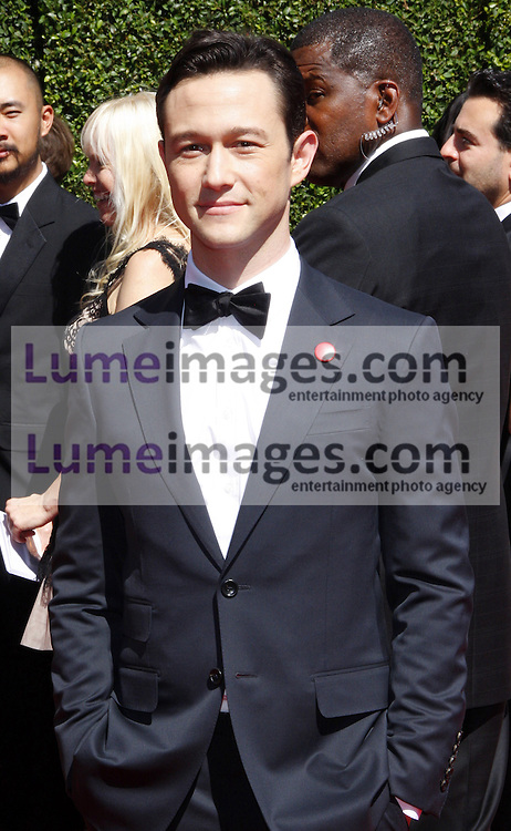 Joseph Gordon-Levitt at the 2014 Creative Arts Emmy Awards held at the Nokia Theatre L.A. Live in Los Angeles, USA on August 16, 2014.