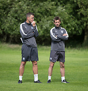 Dundee  assistant manager Graham Gartland and manager Neil McCann - Dundee FC pre-season training at Michelin Grounds, Dundee, Photo: David Young<br /> <br />  - &copy; David Young - www.davidyoungphoto.co.uk - email: davidyoungphoto@gmail.com