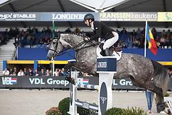 Billington James, (GBR), VDL Friso Smh <br /> 5 years of age<br /> FEI World Breeding Jumping Championships<br /> Lanaken 2015<br /> © Hippo Foto - Dirk Caremans<br /> 20/09/15