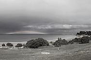 rainbow over Fishermans Beach