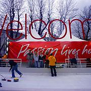 Torino 2006, Sponsor Village dei XX Giochi olimpici invernali allestito in piazza Solferino